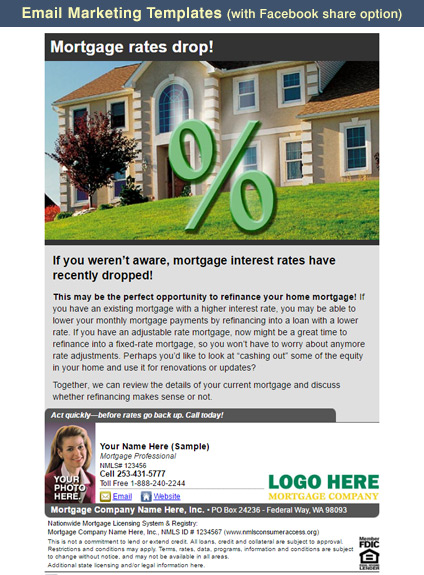 Mortgage Marketing Flyers, Loan Officer Marketing, Mortgage Flyers ...